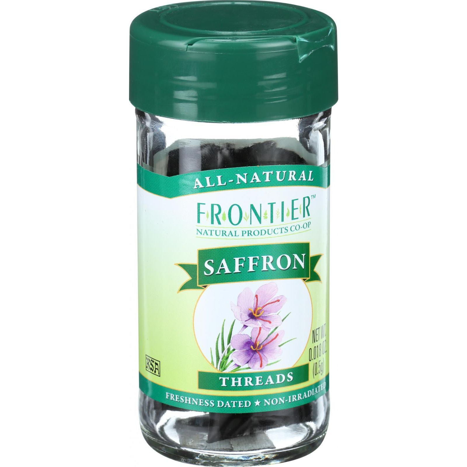 Frontier Herb Saffron .5 g (Pack of 2) by