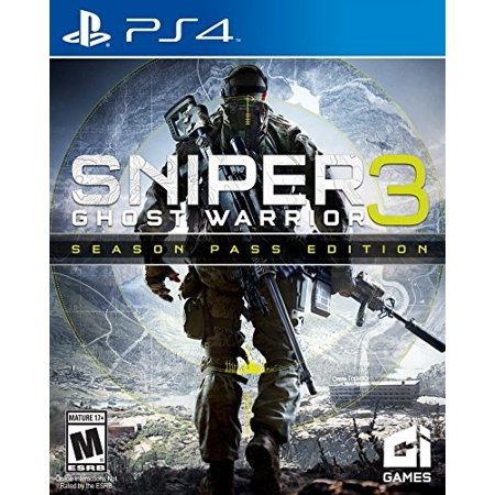 CI Games Sniper Ghost Warrior 3: Season Pass Edition for PlayStation (The Best Sniper Games)