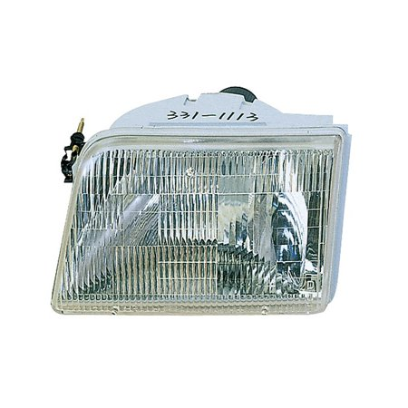 Replacement Driver Side Headlight For 93 97 Ford Ranger F37z13008b Fo2502119