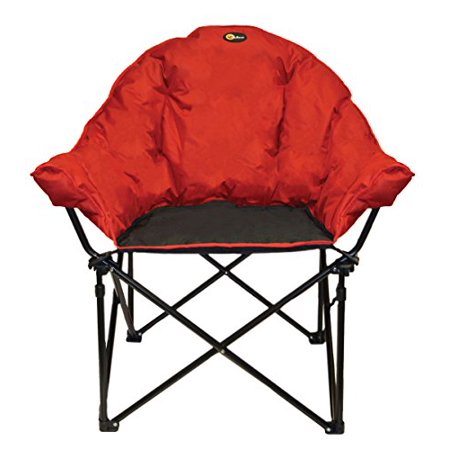 Faulkner Big Dog Bucket Chair BurgundyBlack  Walmartcom