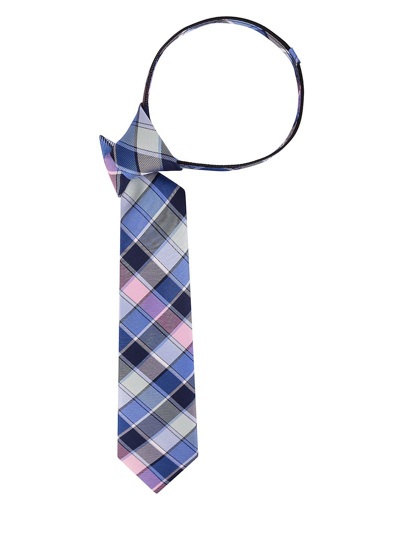 Multi Plaid Silk Tie