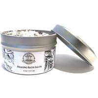 Healing Bath Salts 6 oz for Hoodoo, Voodoo, Wicca & Pagan Divination