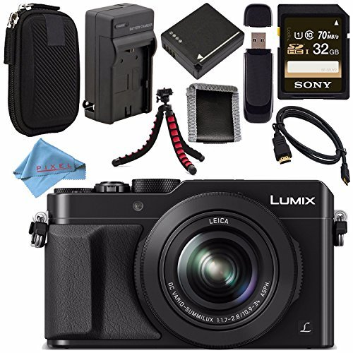 Panasonic Lumix DMC-LX100 DMC-LX100K Digital Camera (Blac...