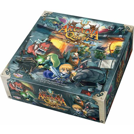 Cool Mini or Not Arcadia Quest (Solar Quest Board Game)