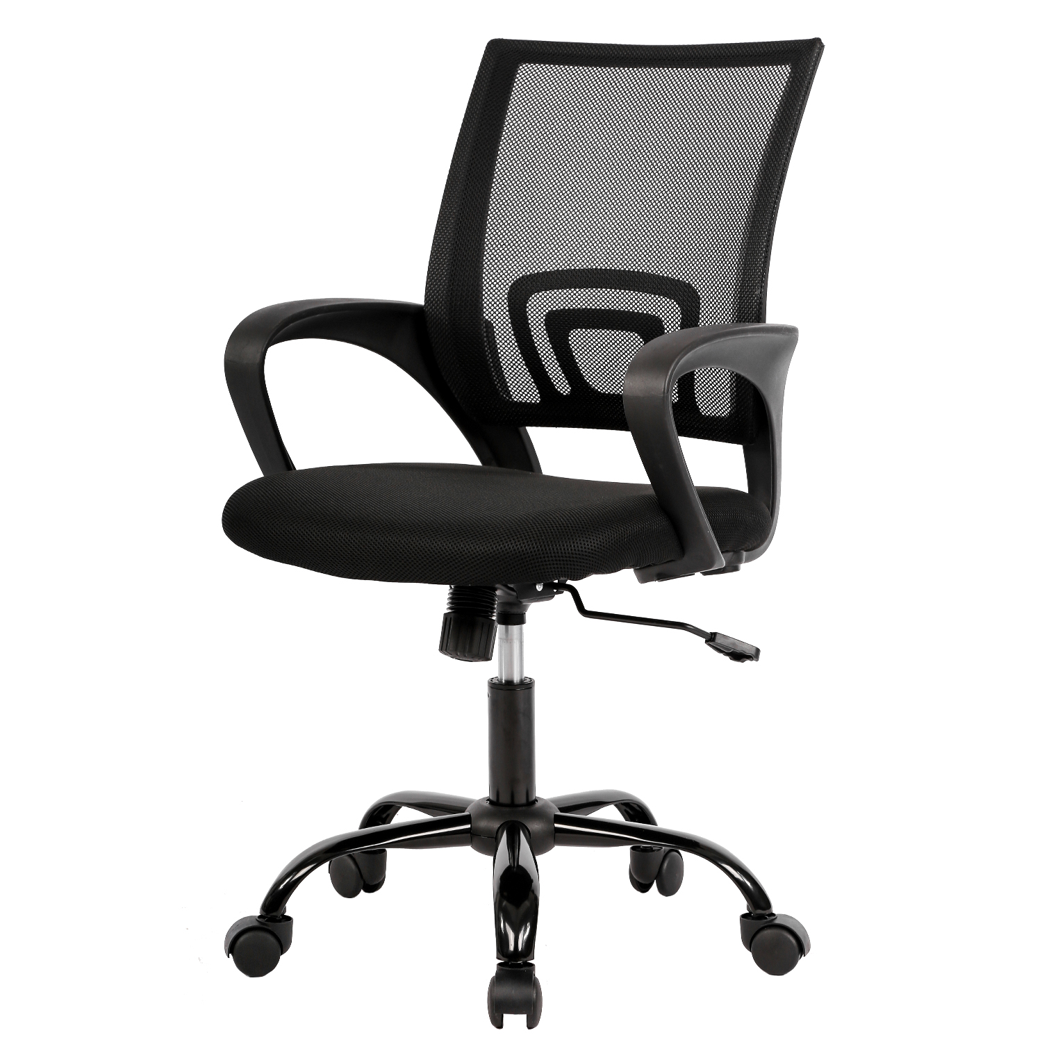 Mesh Office Chair Desk Chair Computer Chair Ergonomic Adjustable Stool Back Support Modern Executive Rolling Swivel Chair For Women Men Black Walmart Com Walmart Com