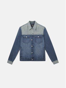 Wesc Men's Denim Jacket Indigo Block