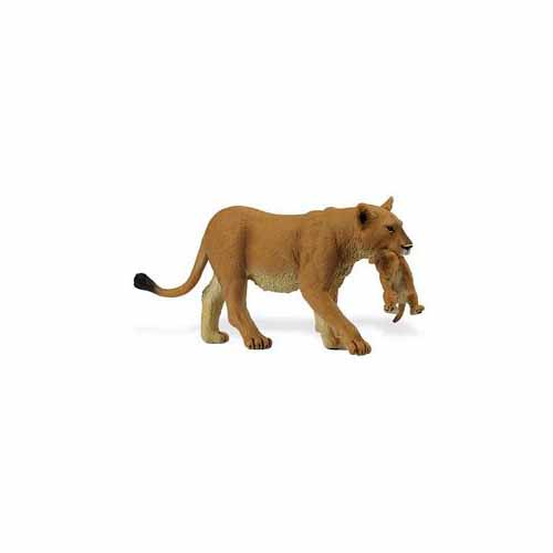 Lioness with Cub Figurine by Safari Limited - 225229