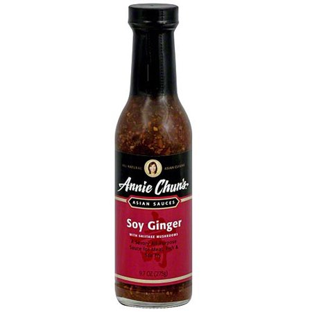 Annie Chun's Shiitake Soy Ginger Sauce, 9.7 oz (Pack of (Ginger Grilling Sauce)