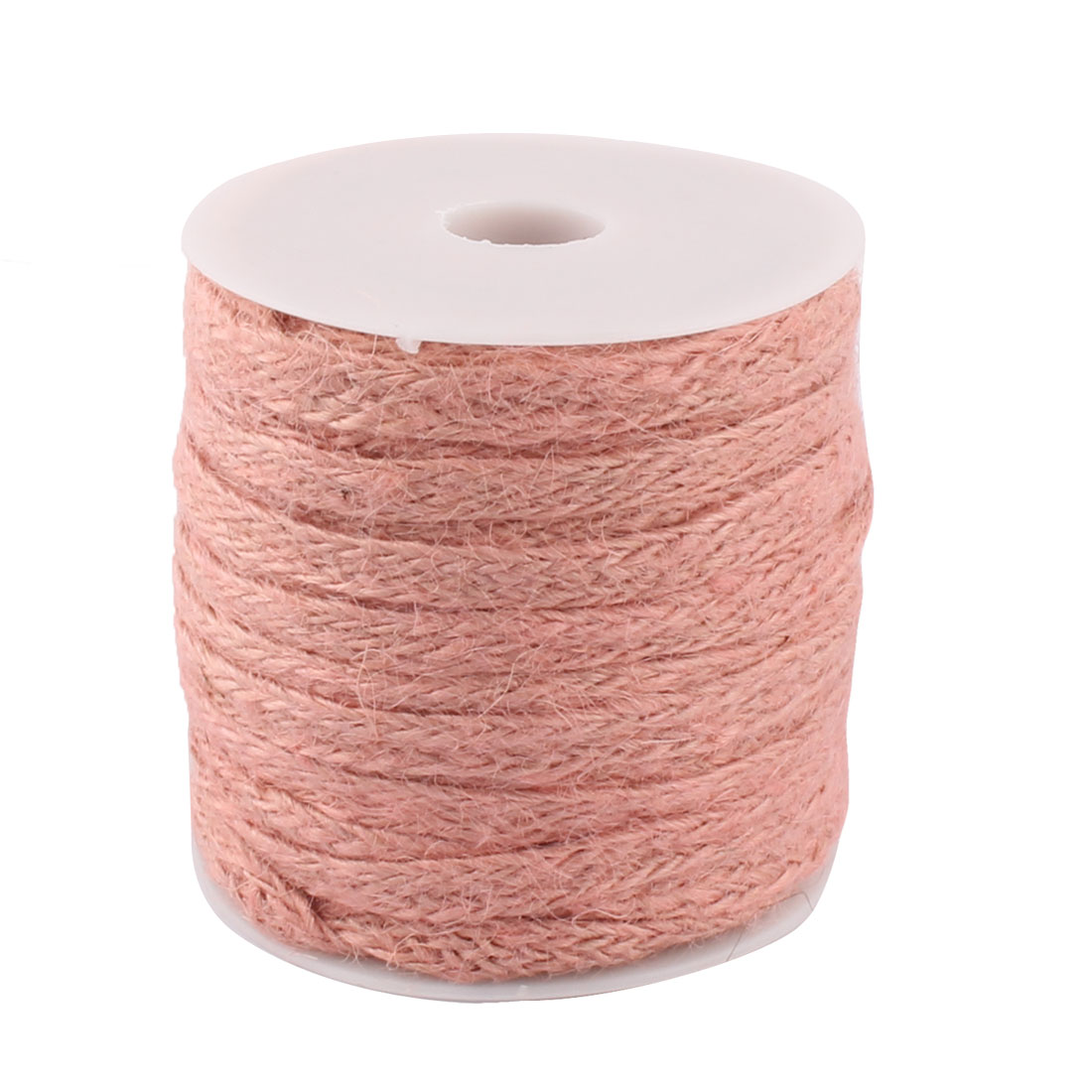 Wedding Gift Decoration Burlap String Ribbon Rope Roll Pink 22 Yards Length