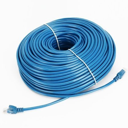 cable n wireless 200 feet high speed cat5 cat5e rj45 patch ethernet network internet dsl cable (200 ft, blue) for pc, mac, laptop, ps2, ps3, xbox, and xbox 360 (us seller) Cat Eye Vectra Wireless Cycle Computer
