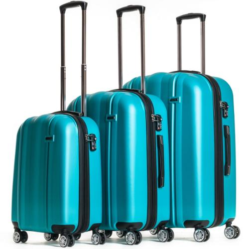 CalPak Winton Expandable Hardside Spinner 3-Piece Luggage Set Black