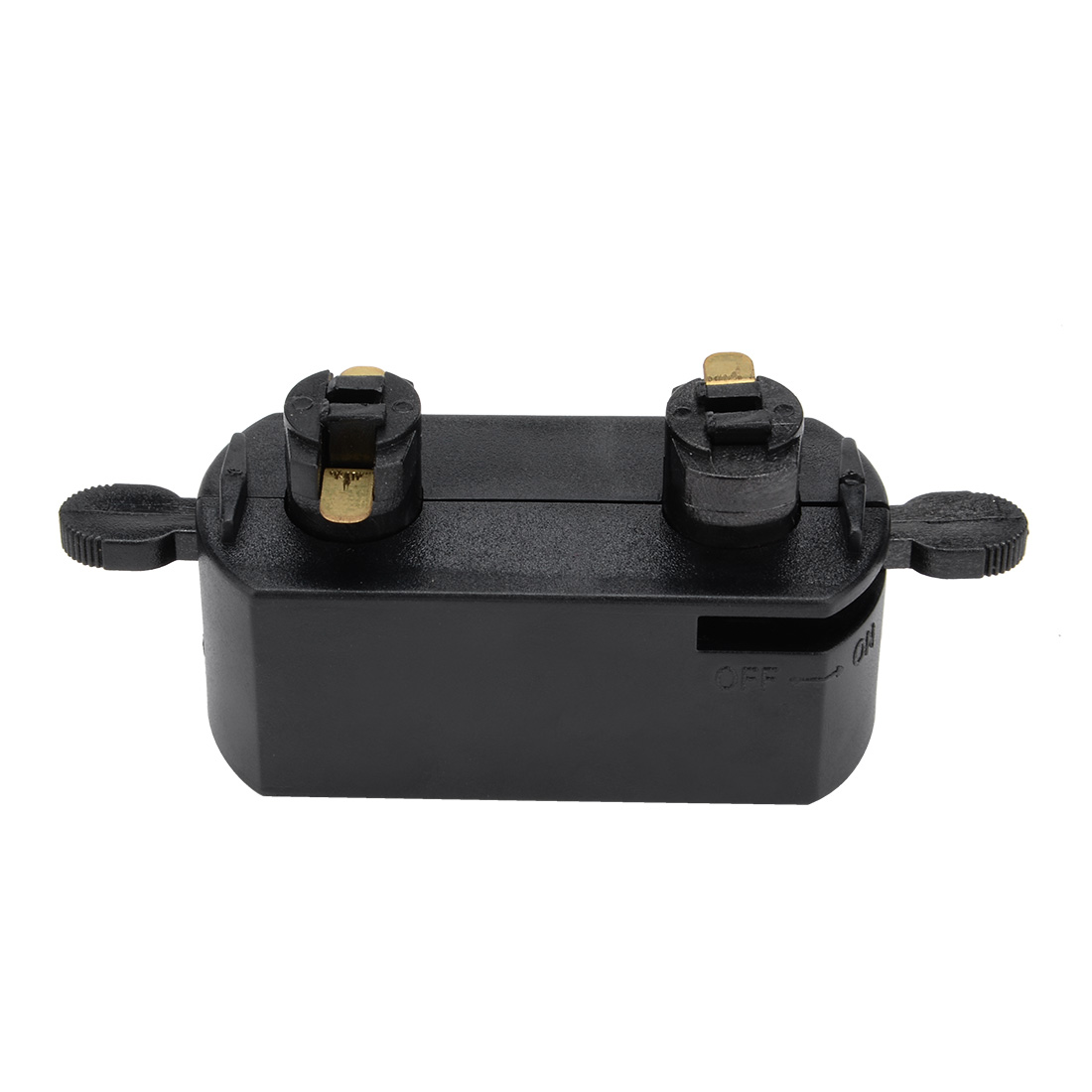 3-Wire Track Rail Joint Connector On/off Control Lighting Fittings GT-301 Black - image 1 of 2
