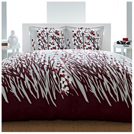 City Scene Spring Arbor Bedding Comforter Set, Brown