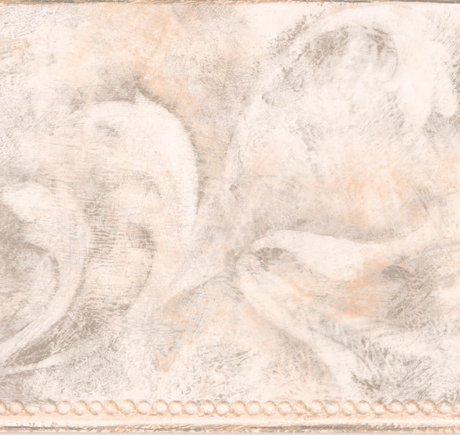 Modern Abstract White Vine Damask Wallpaper Border Paint By Design Roll 15 X 7