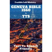Geneva Bible 1560 - TTS - eBook