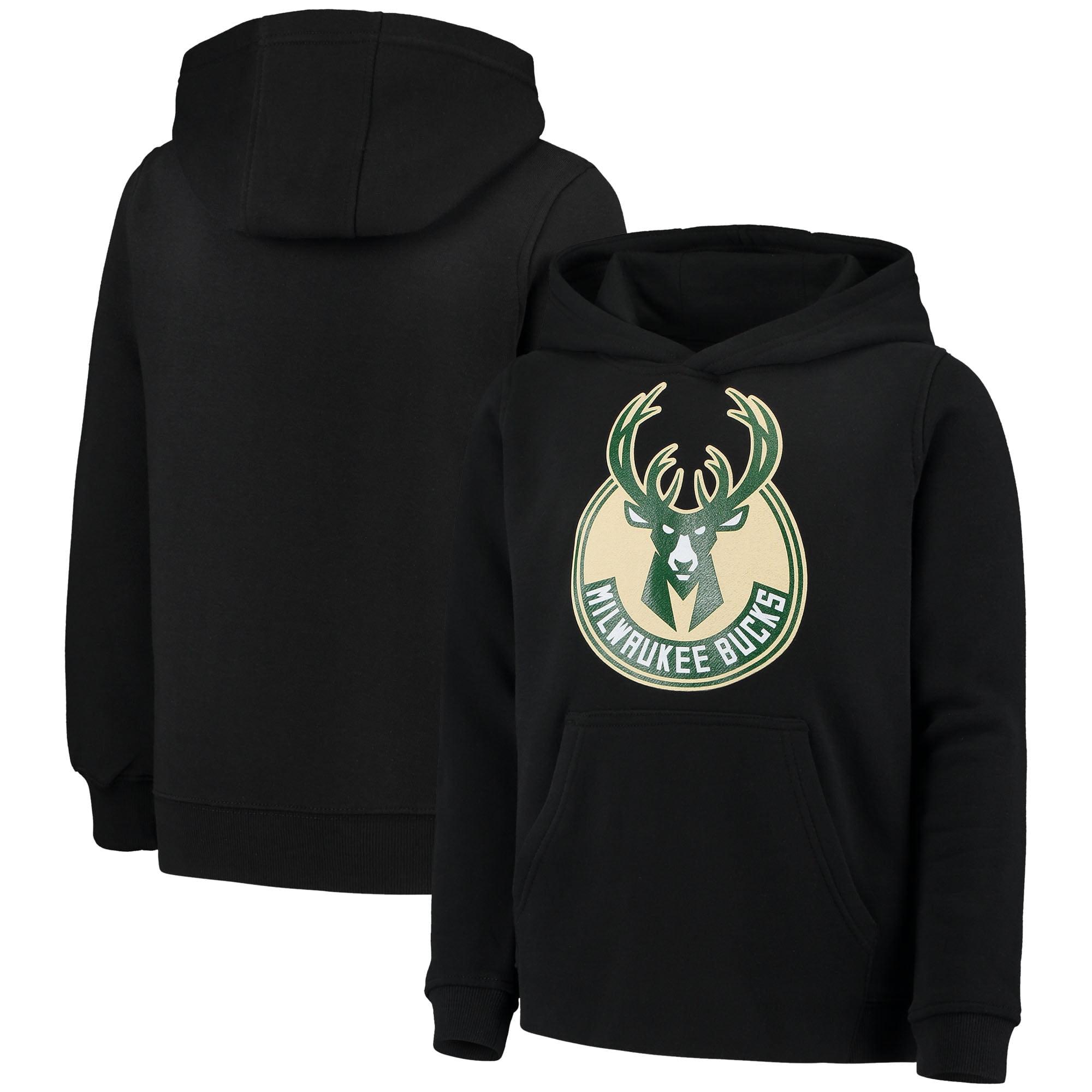 Outerstuff NHL Youth Minnesota Wild Primary Logo Fleece Hoodie