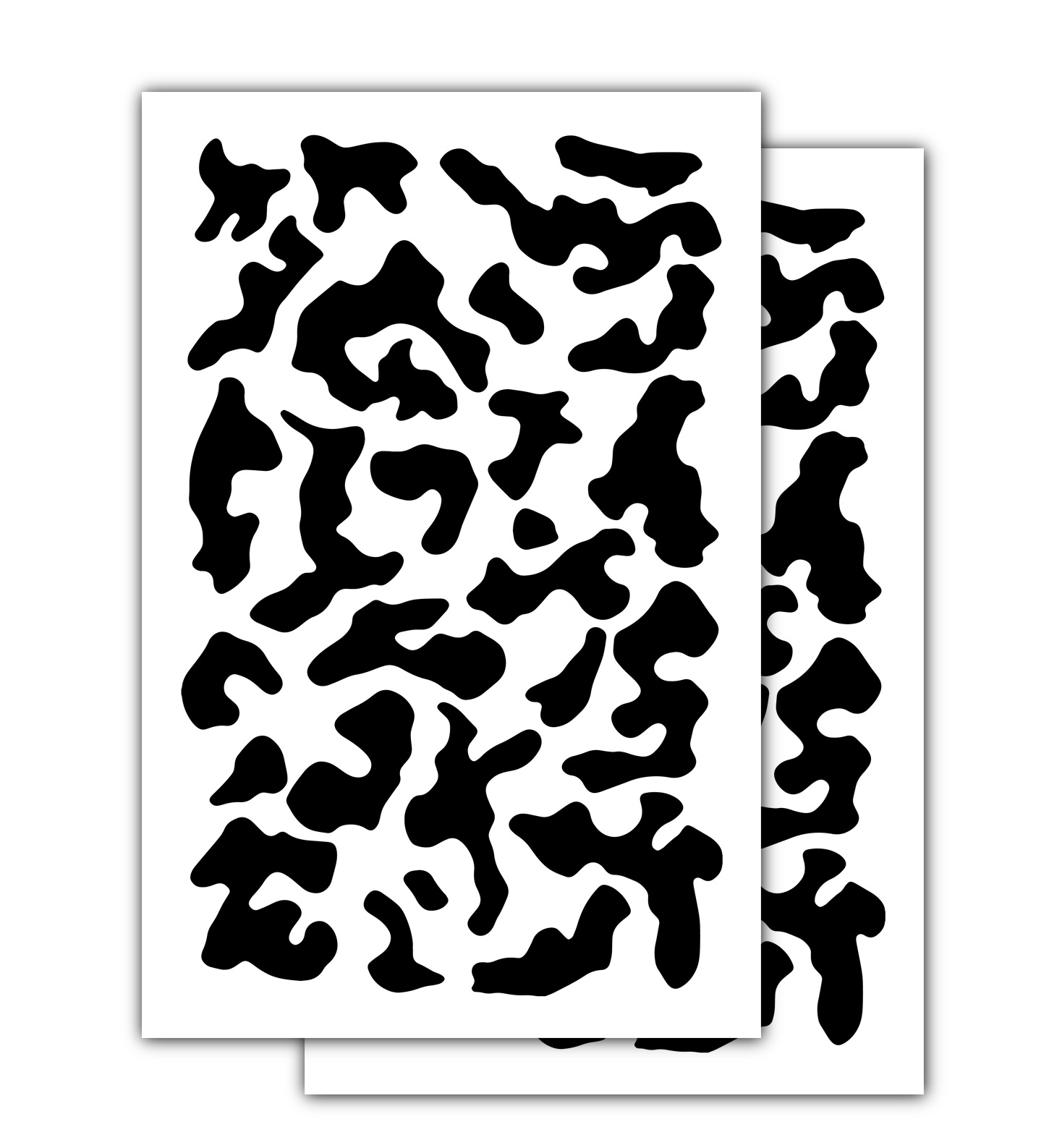 photo relating to Printable Camo Stencils referred to as 2 PACK Mylar Camo Stencils Camouflage Gun Paint Cerakote Low Armed service Multicam