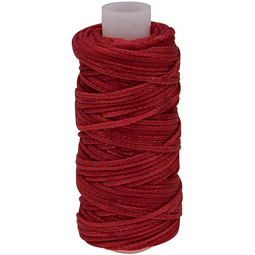 Waxed Braided Cord 25 yd Spool