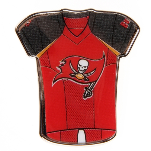 "Tampa Bay Buccaneers WinCraft 1"" x 1"" Jersey Pin - No Size"