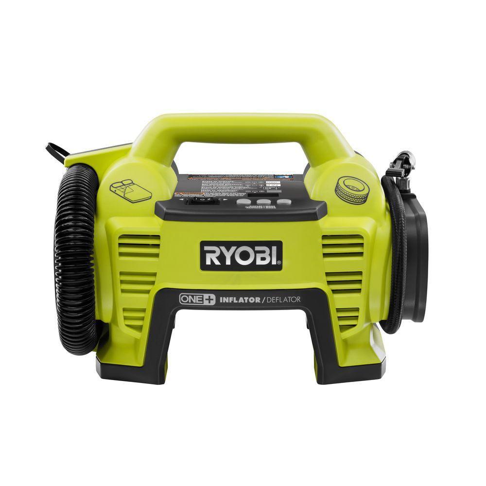 Ryobi 18 Volt Li Ion Electric Portable Air Compressor Tire Inflator Car Bike by