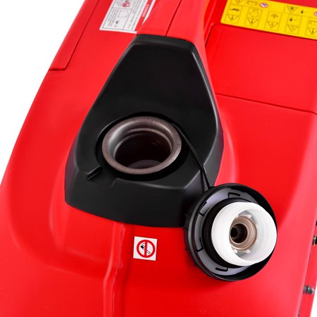 Portable 2750W Digital Inverter Generator 4 Stroke 125cc Single Cylinder Red - image 6 of 10