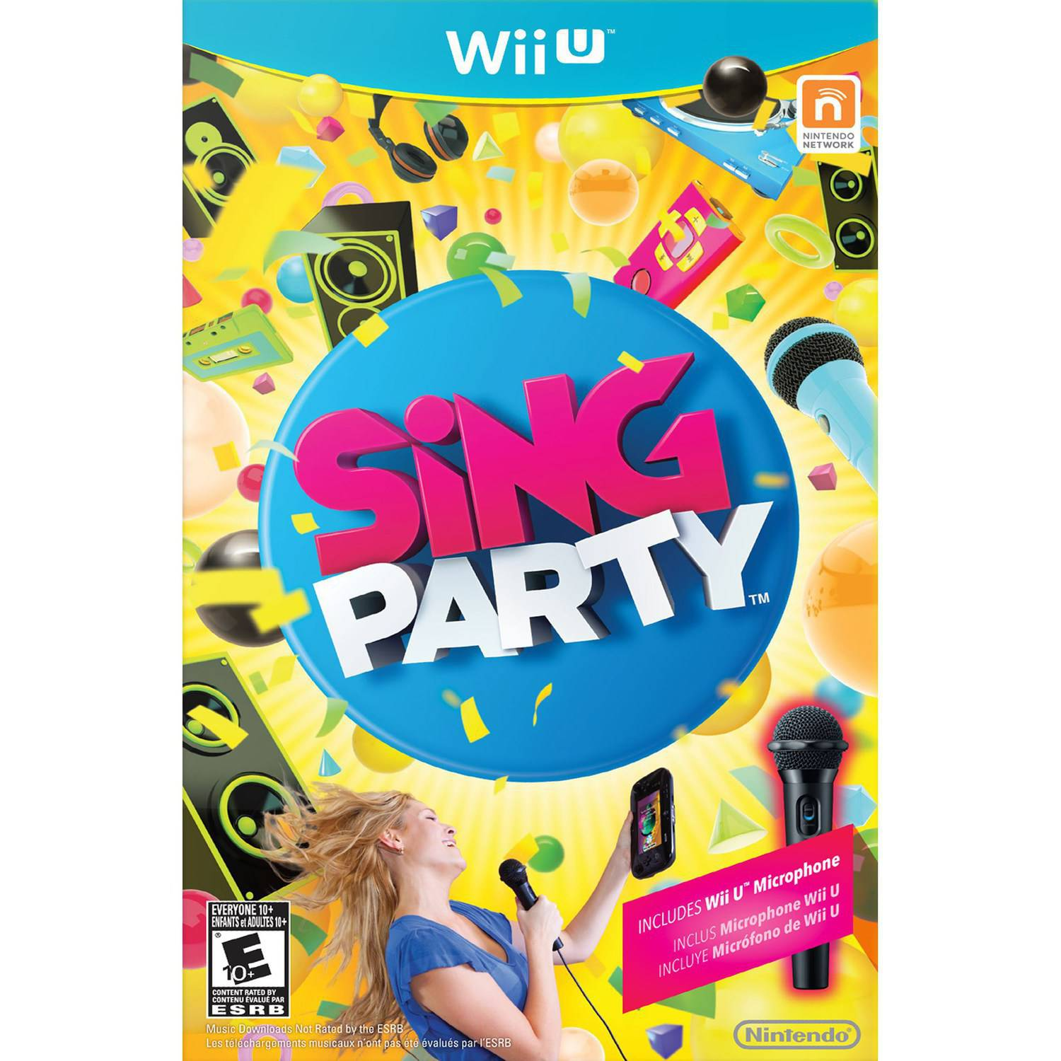 SiNG Party with WiiU Microphone (Wii U)