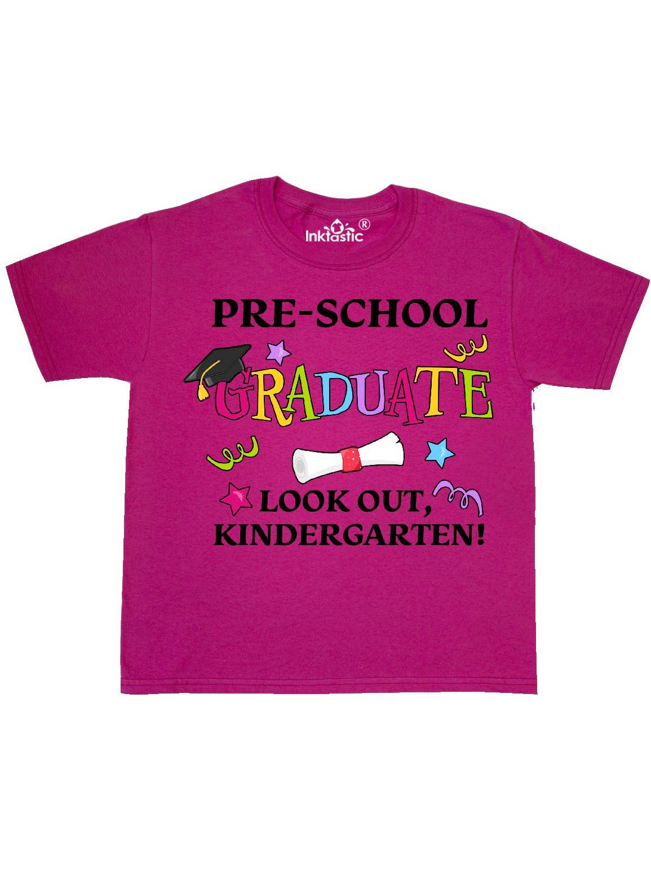 Pre-School Graduate Look out, Kindergarten! Youth T-Shirt