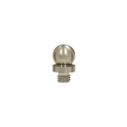 Decorative Solid Brass Decorative Ball Tip Finial for Deltana Hinge