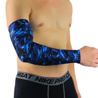 Sport Skin Arm Sleeve Cooling UV Cover Sun protective Stretch Basketball