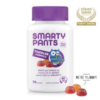 SmartyPants Toddler Formula Multivitamin Gummies, 70 Ct