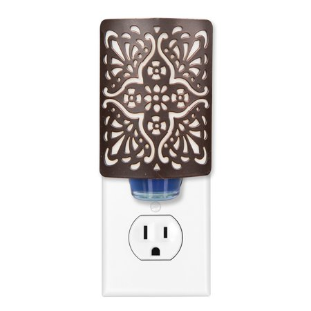 Better Homes & Gardens Fragrance Oil plug in Diffuser, Punched Medallion