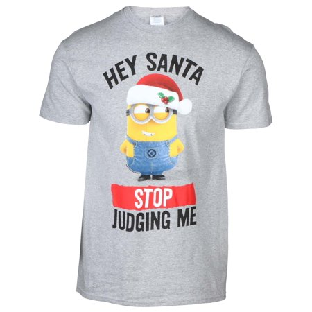 Men's Licensed Minions Christmas - Adult Minion Shirt