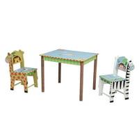 Fantasy Fields - Sunny Safari Table & Set of 2 Chairs