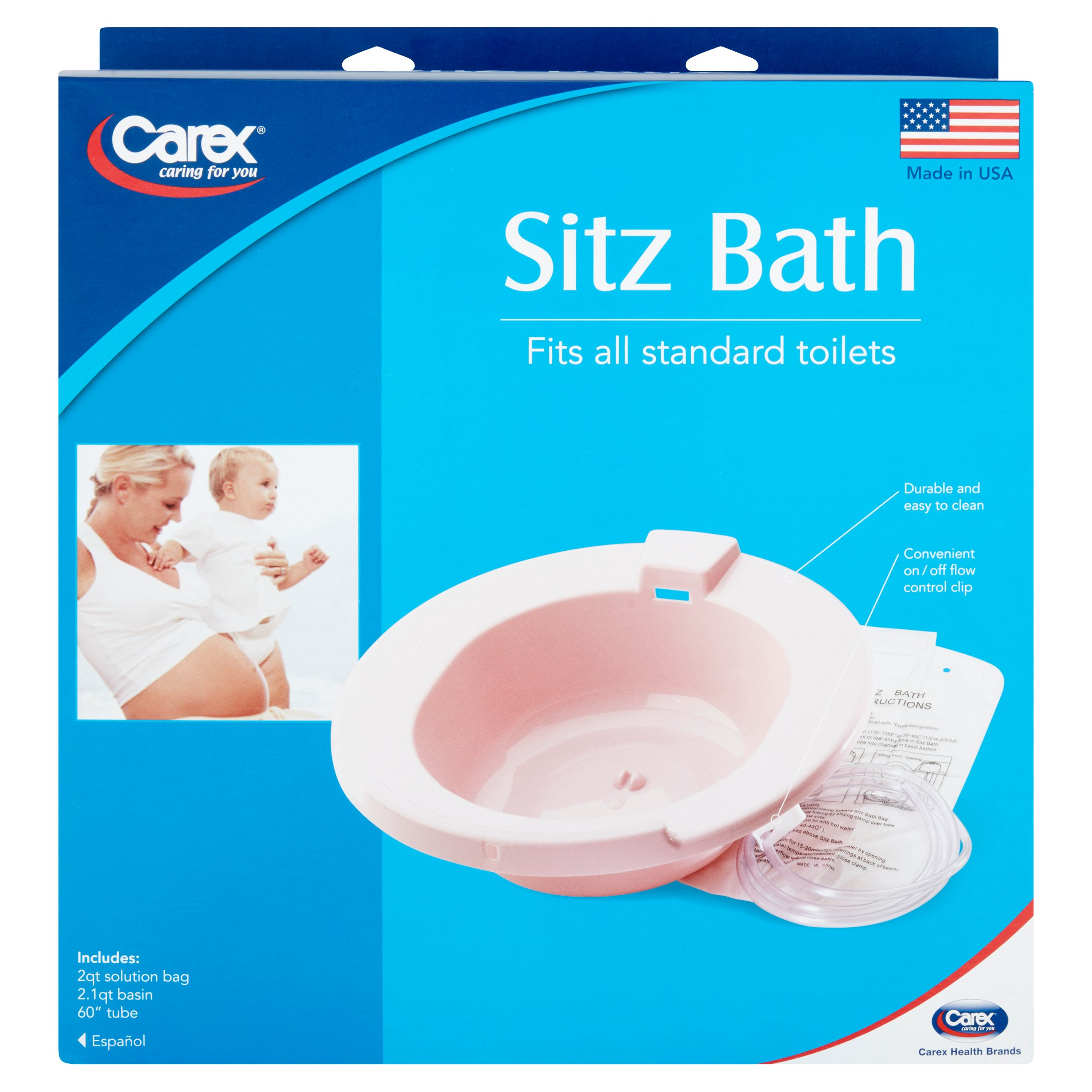 carex sitz bath - walmart, Skeleton