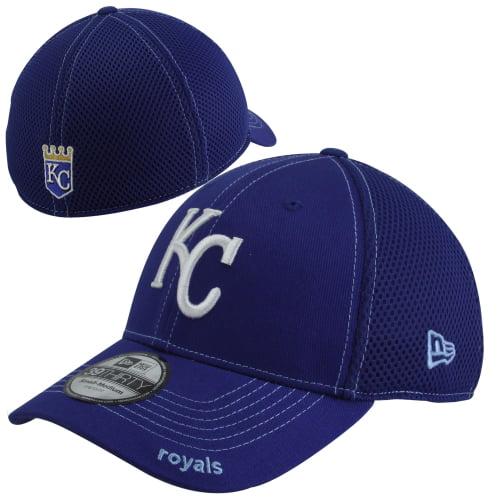 New Era Kansas City Royals Neo 39Thirty Stretch Fit Hat - Royal Blue