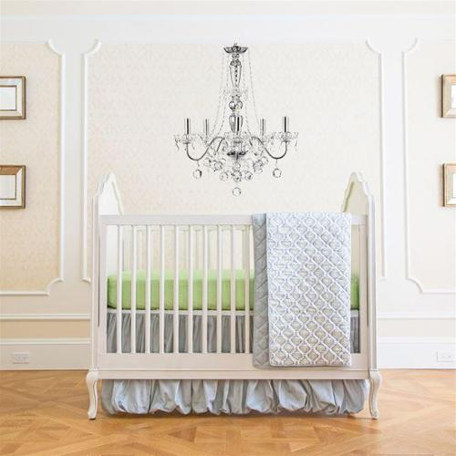 Summer Infant Classic 4 Piece Bedding Set - Garden Gray