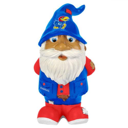 """Kansas Jayhawks Garden Gnome - 8"""" Stumpy"""