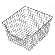 -003 Metal Wire Pantry Container Food Organizer Storage Basket Bin Storage Organizer Basket Food Container