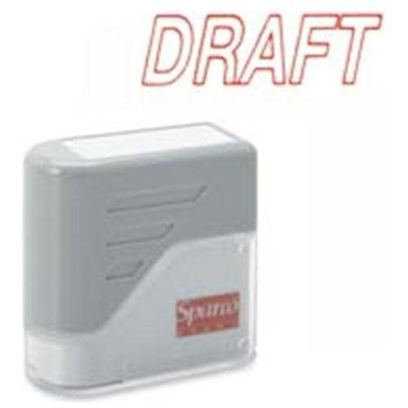 Sparco Self-inking Stamp - Draft Message Stamp - 1.75