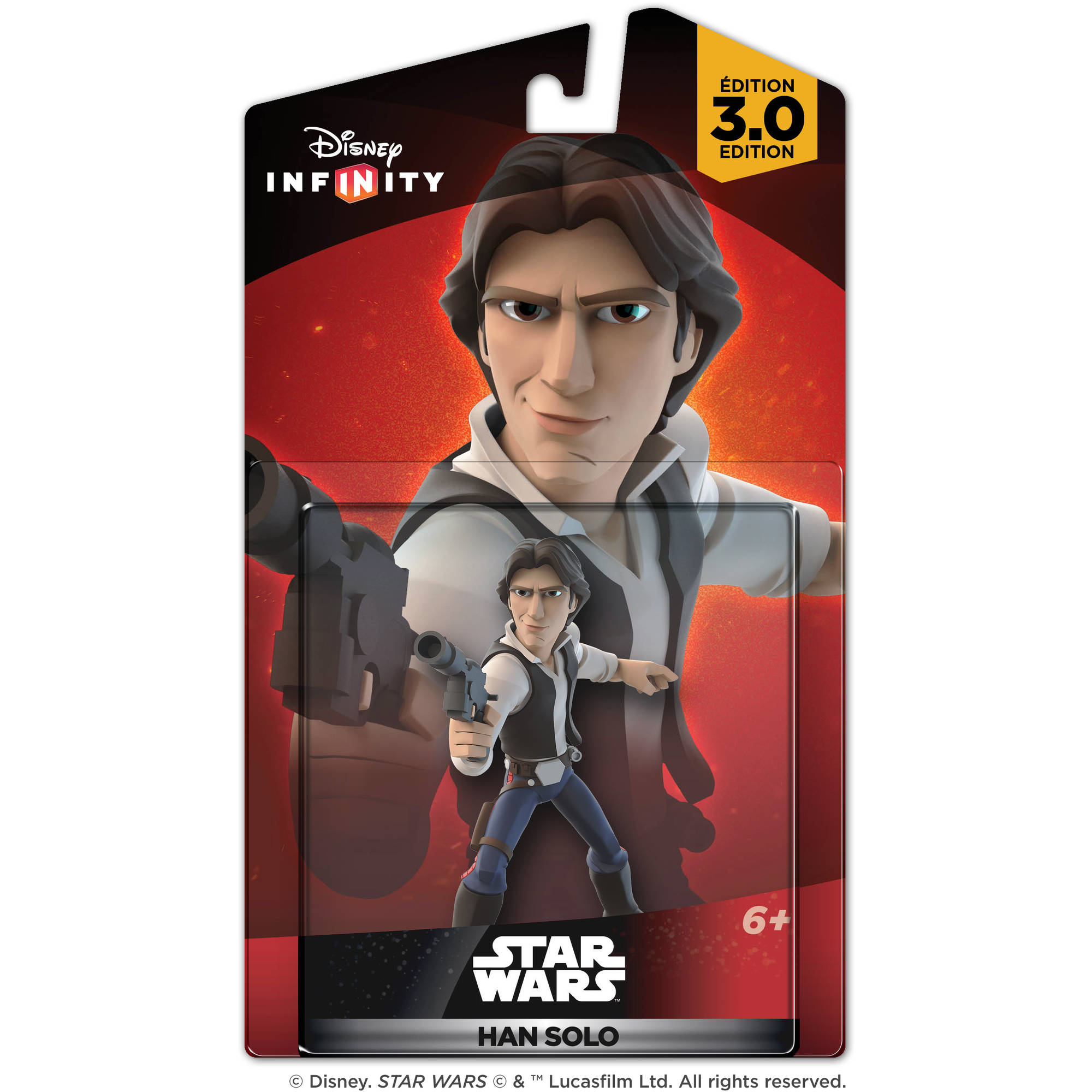 Disney Infinity 3.0 Star Wars Han Solo Figure (Universal) by Disney