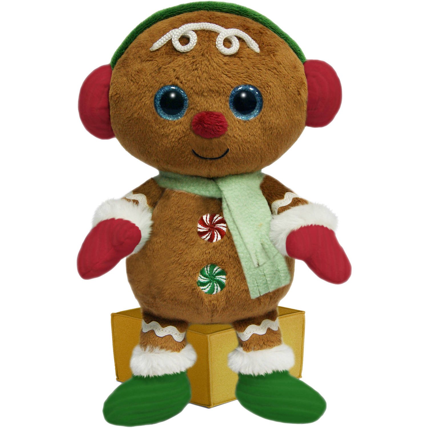 First And Main 7 Santa Buddies Plush Gingerbread Man Walmart Com
