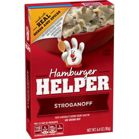 Betty Crocker Hamburger Helper  Stroganoff Hamburger Helper  6 4 Oz Box