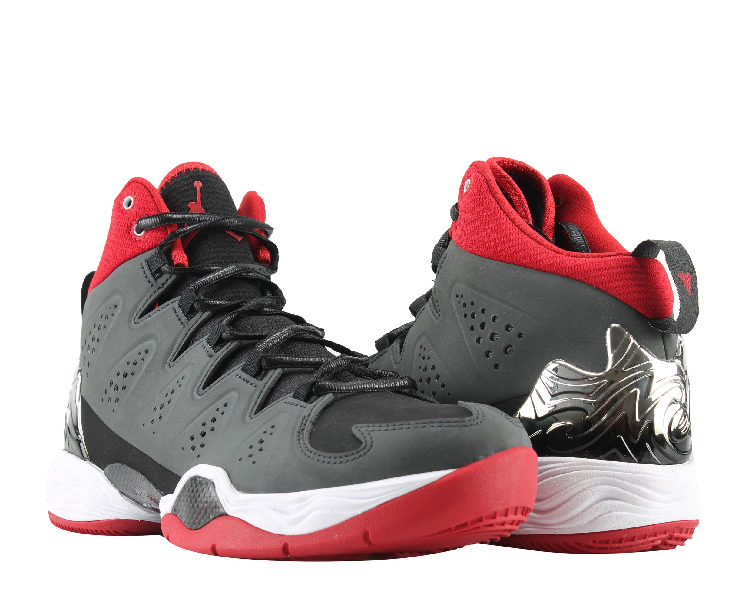 bbc9303bef82ce ... discount nike air jordan melo m10 anthracite gym red mens basketball  shoes 629876 002 74ddf 18f3b