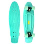 Complete 27 Inch Skateboard Plastic Mini Retro Style Cruiser Mint
