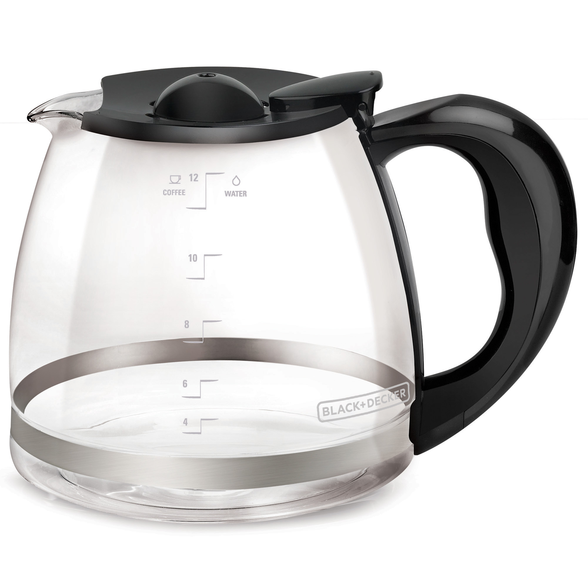 BLACK+DECKER 12-Cup* Replacement Carafe, Glass, GC3000B-T