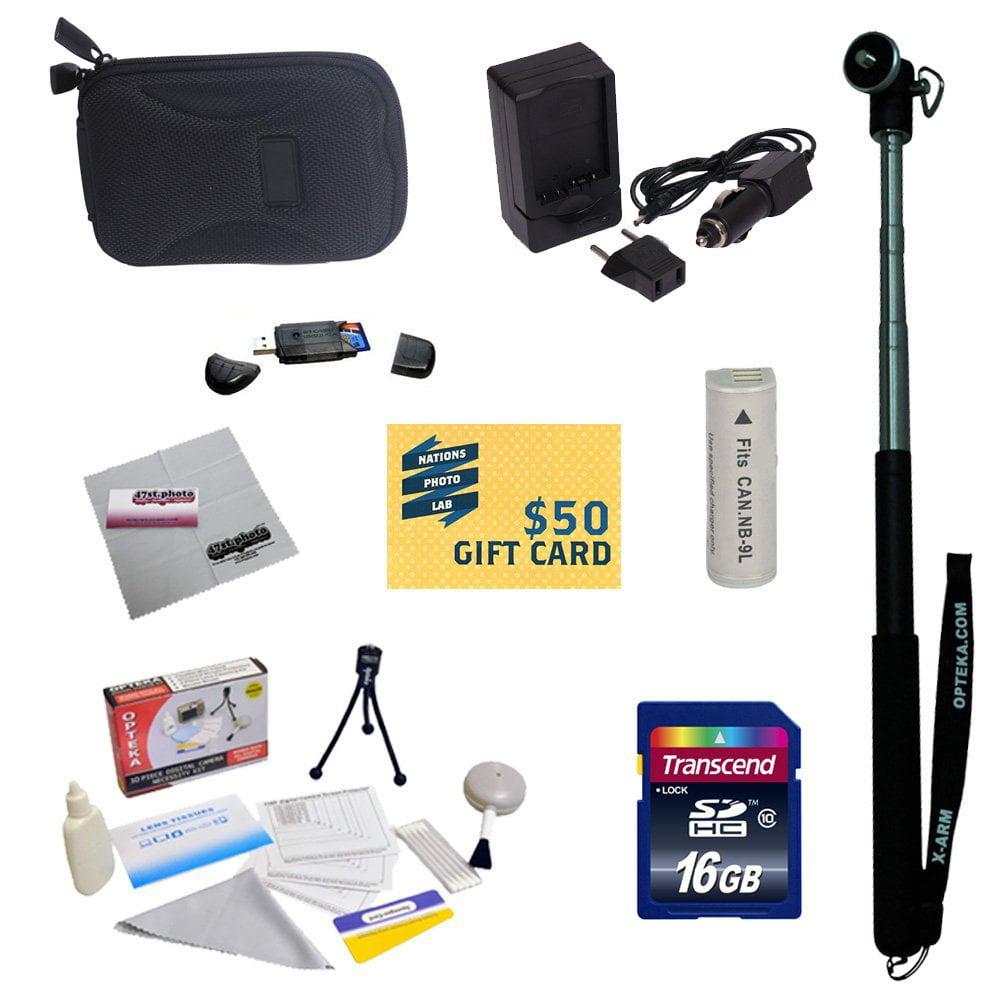 Essentials Kit for Canon PowerShot Elph 530 520 N Digital...
