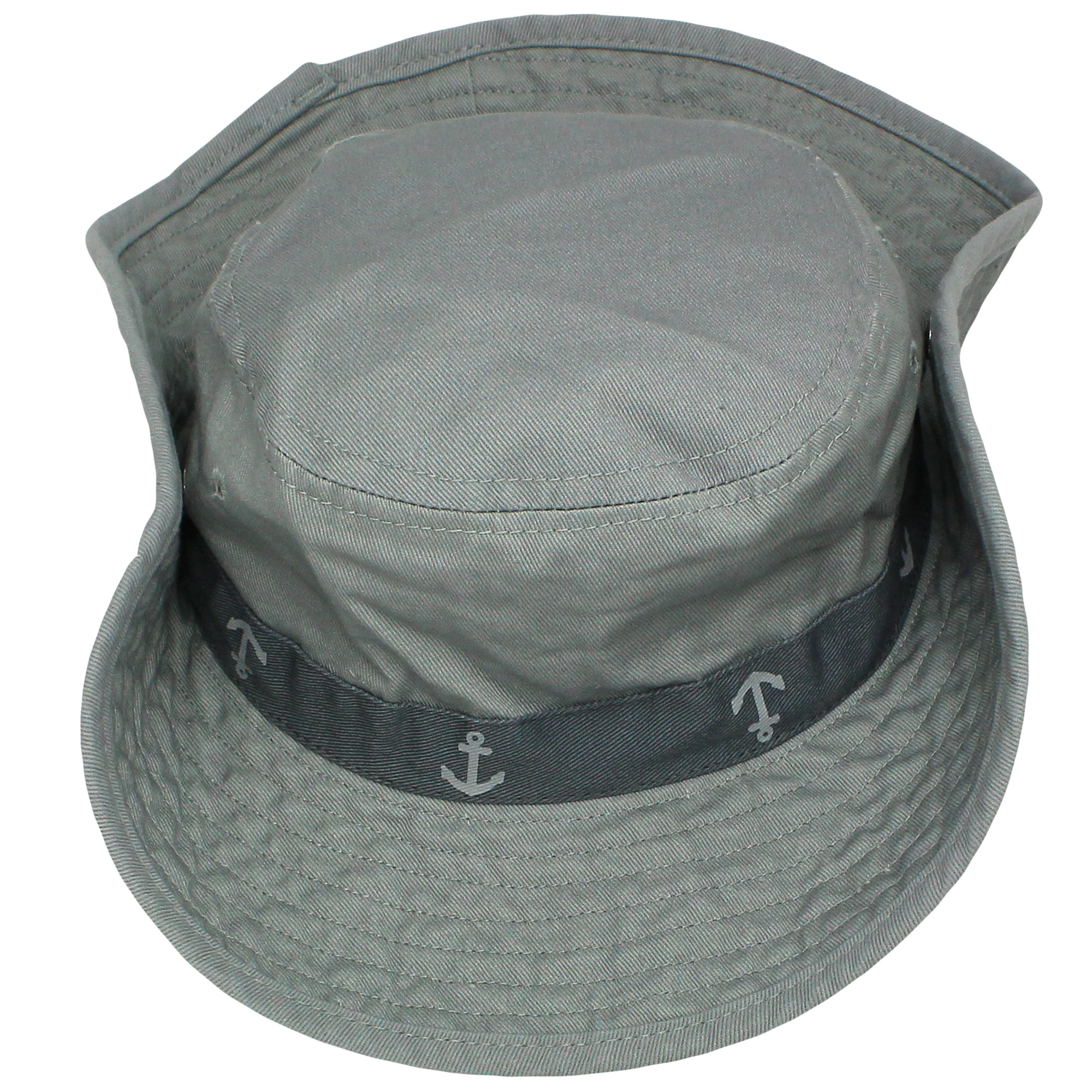 66a6a43642f Carter s Safari Outdoor Bucket Infant Boys Sun Hat Grey 100% Cotton 12-24M  - Walmart.com