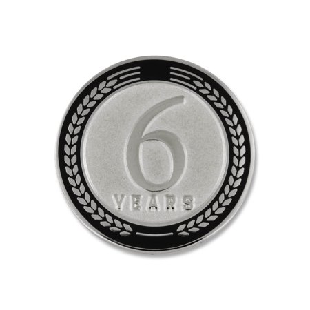Recognition Gifts (PinMart's 4 Years of Service Award Employee Recognition Gift Lapel Pin -)