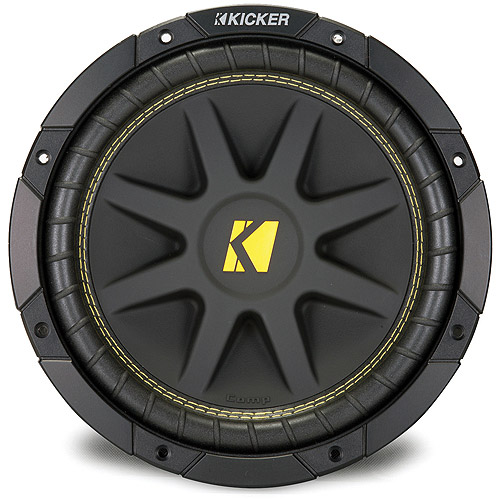 "Kicker 10C104 10"" (250mm) 4-Ohm Subwoofer  (One Subwoofer)"