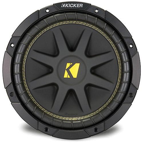 "Kicker 10C104 10"" (250mm) 4-Ohm Subwoofer  (One Subwoofer)"